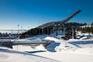 The new Holmenkollen Ski Jump in Oslo