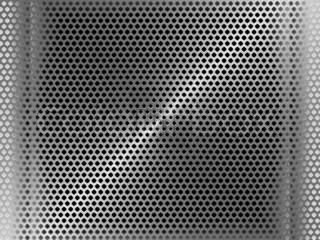 Steel perforated metal panel scratched texture