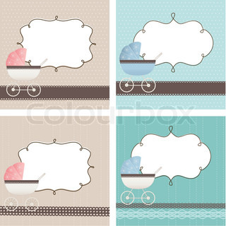 Vector of 'baby, cartoon, cute'