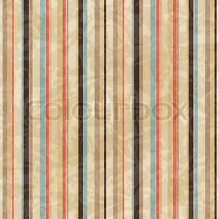 Seamless vintage lines pattern on paper texture