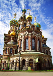 Church of the Savior on Blood St Petersburg, Russia