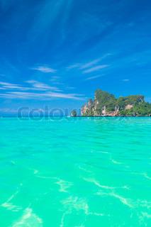 Ocean Panorama Seascape Azure