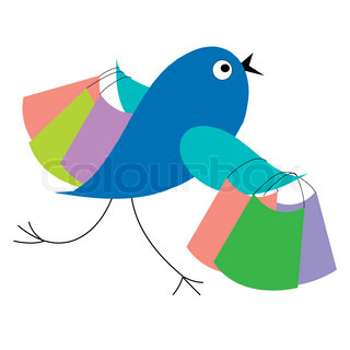 Blue bird shopping runs from sale