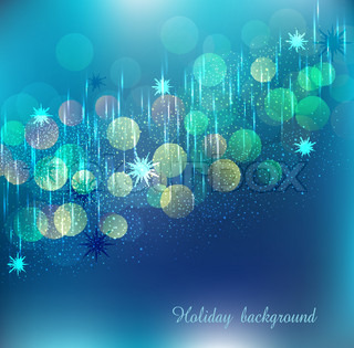 vector blue holiday background