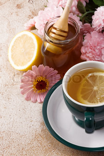 tea and honey