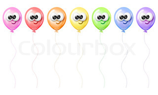 Cartoon-Ballons