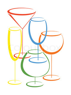 Vector of 'party, vector, cocktail'