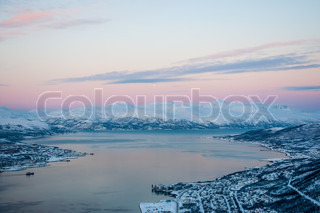 tromso sunset
