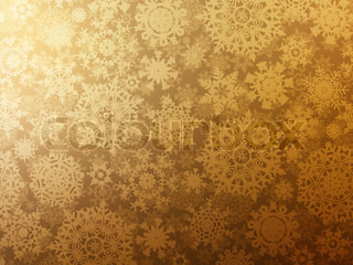 Golden elegant christmas template EPS 8