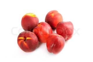 Group of nectarines