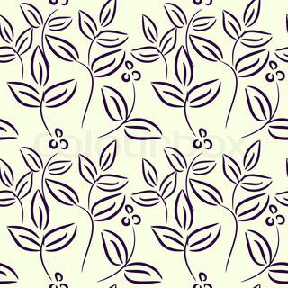 Vektor af 'plants, mønster, dekorative'
