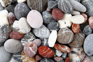 color stones as very nice natural background