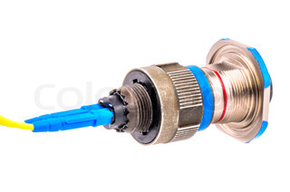 Connector for fiber optic cable