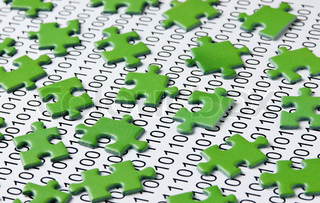 puzzles and binary code