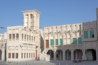 Souq Waqif in Doha Qatar, Middle East