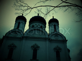 Russian Orthodox Church, Russia, St. Petersburg, Pushkin, Catherine's Cathedral