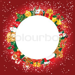 christmas card christmas greeting whit decordecoration ornament nd copy space