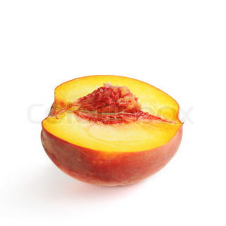 Fresh ripe peach