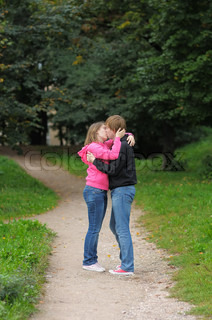 Image of 'couple, romantic, kissing'