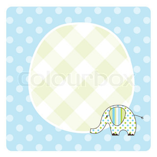 Baby shower card, baby arrival card