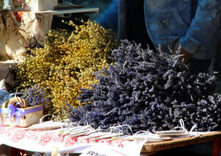 Lavender and dry herbs