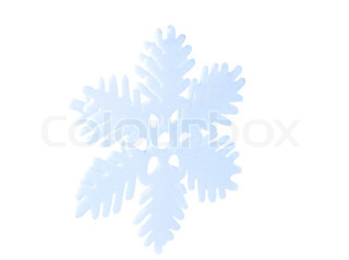 snowflake isolated