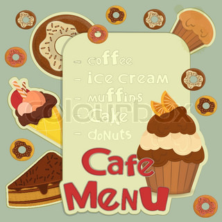 Design Cafe Menu