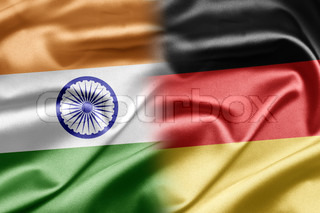Image of 'Germany, Flag, Indian'