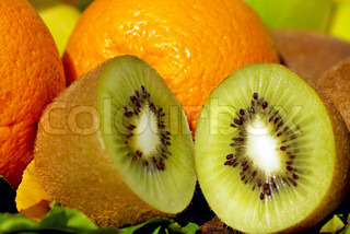 Kiwi and citrus fruits