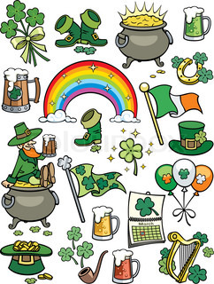 St. Patrick's Day-Elemente