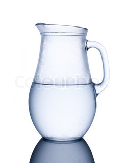Pitcher of cold water
