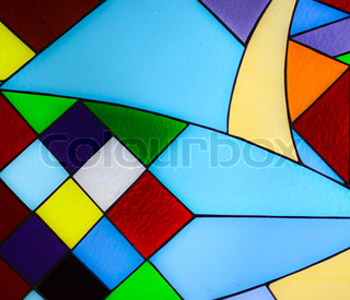 Abstract glass mosaic background