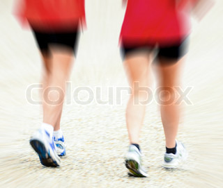 Running conceptual image