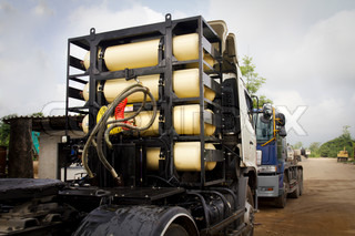 CNG / NGV gas tanks for heavy truck , alternative fuel