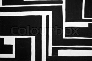Abstract black and white painted background