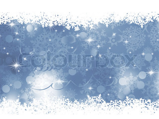 Blue gray Christmas background EPS 8