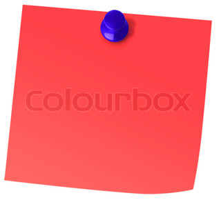 Red Paper Note
