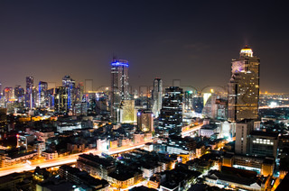 Bangkok City Night, Thailand