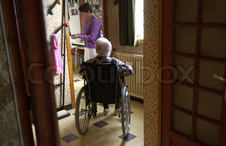 Image of 'nursing, nursing home, nurse'
