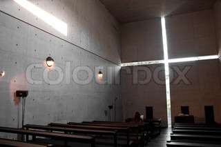 Interior of Church of the Light