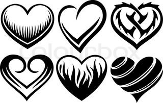 hearts tattoos