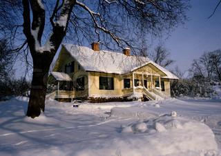 Image of 'house, winter, sweden'