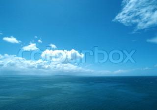 Billede af 'ocean, himmel, blå'