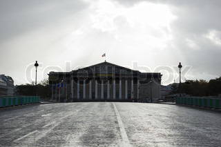 Assemblee Nationale - the French Parliament