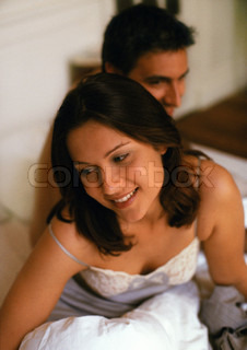 Image of 'couple, bed, bedroom'