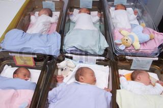 Image of 'newborn, hospital, birth'