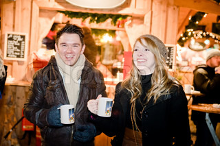 Fun on a Christmas Market