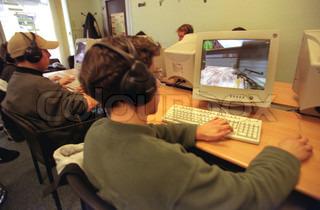 Billede af 'computerspil, børn, computere'