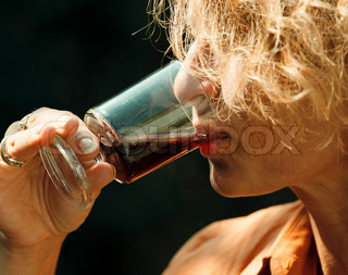 Image of 'alcohol, red wine, drink'