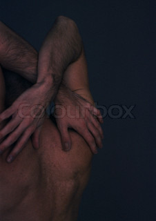 Image of 'finger, nudity, male'
